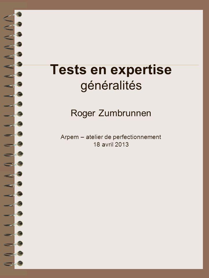 Sommaire Généralités Types de tests Qualités des tests Utilité des tests Limites des tests Dangers des tests