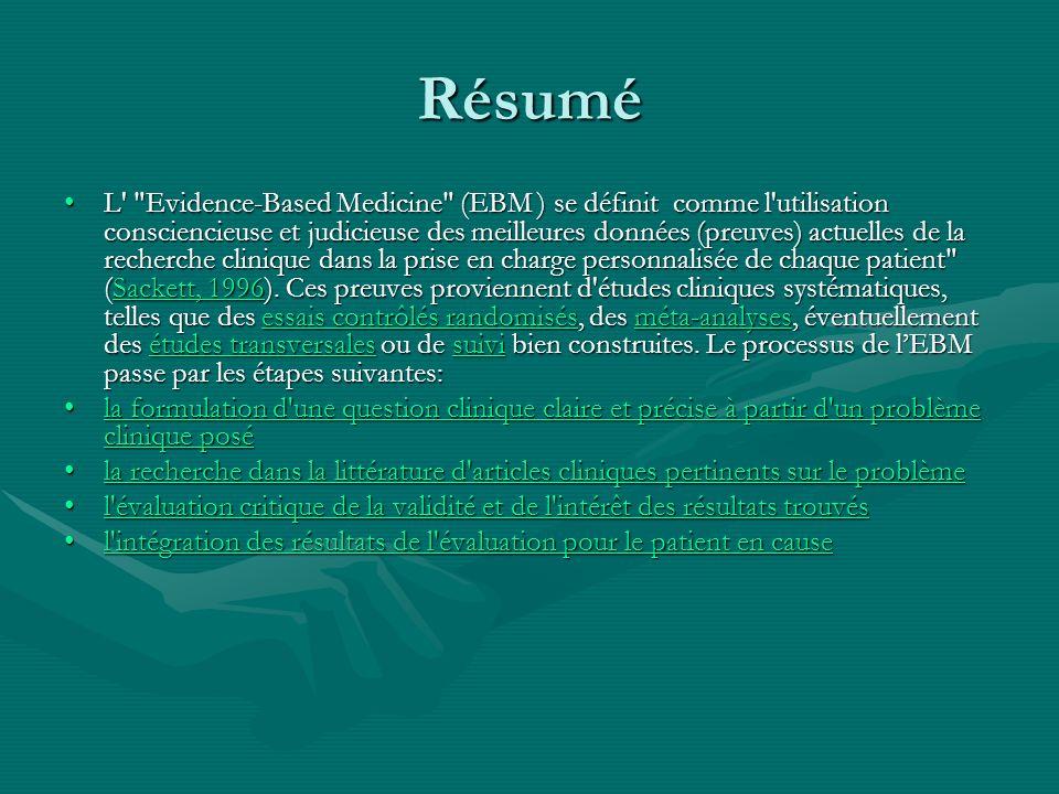 Introduction 1/3 Introduction 1/3 L EBM fait maintenant partie intégrante de la pratique médicale.