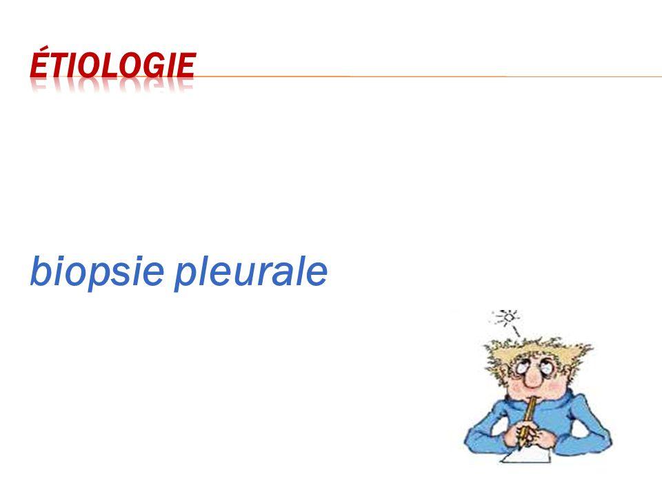 biopsie pleurale