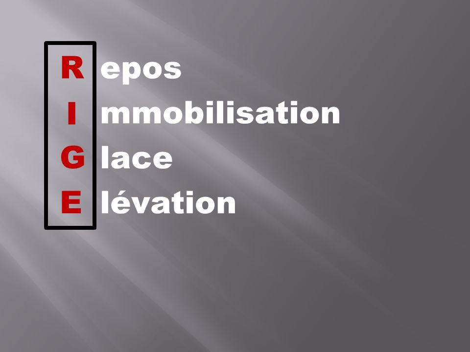 Repos mmobilisation Glace Elévation I