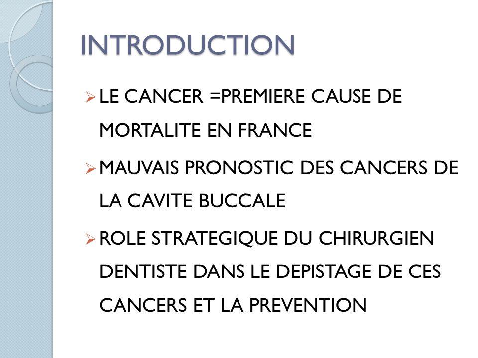 Risque de cancer oro-pharyngé en fonction de la consommation dalcool et de tabac
