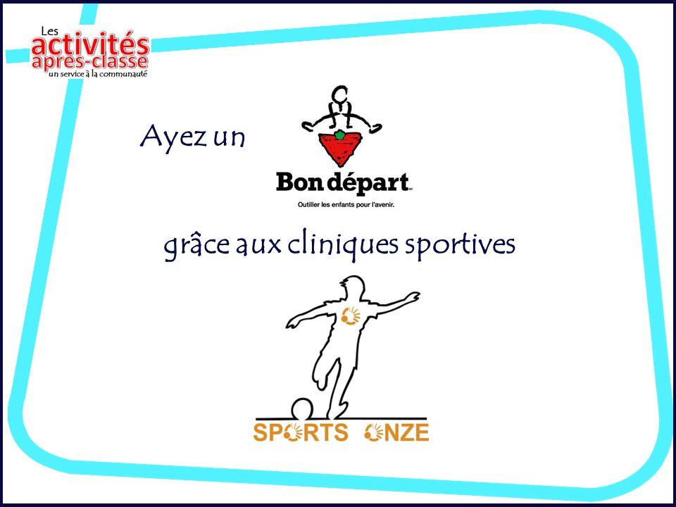 Ayez un grâce aux cliniques sportives