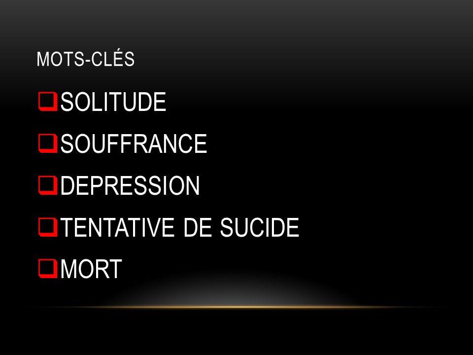 SIGNES D ALARME ET FACTEURS DE RISQUE 5 PHASES SUR LE CHEMINEMENT SUICIDAIRE:
