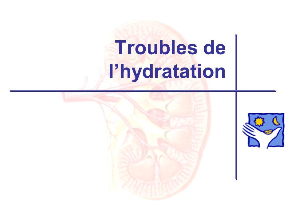 Troubles de lhydratation