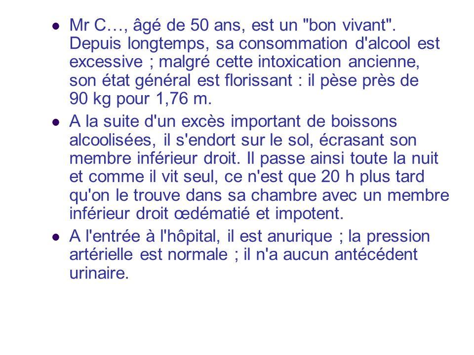 Mr C…, âgé de 50 ans, est un bon vivant .