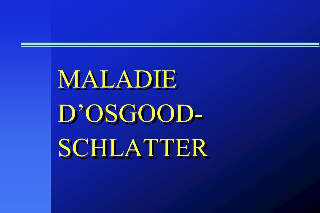 MALADIE DOSGOOD- SCHLATTER