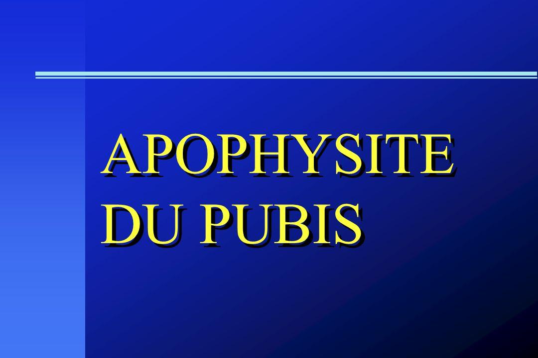 APOPHYSITE DU PUBIS