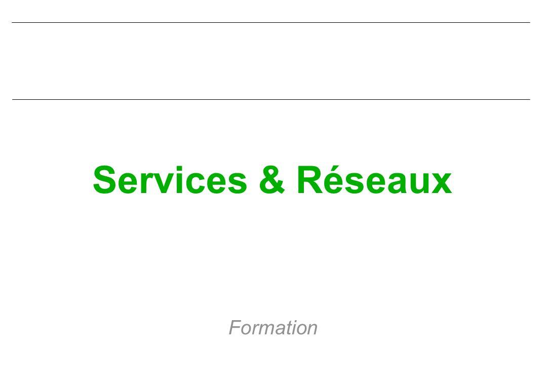 Services & Réseaux CIN ST MANDRIER Quels sont les principales caractéristiques que doit posséder un réseau étendu .