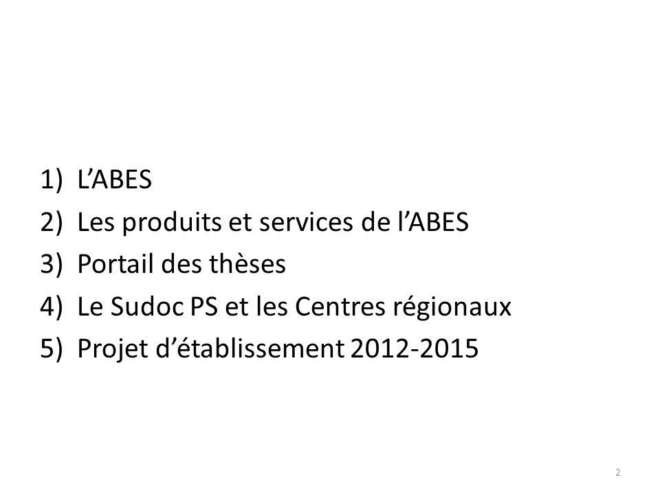 5) Projet détablissement 2012- 2015 33