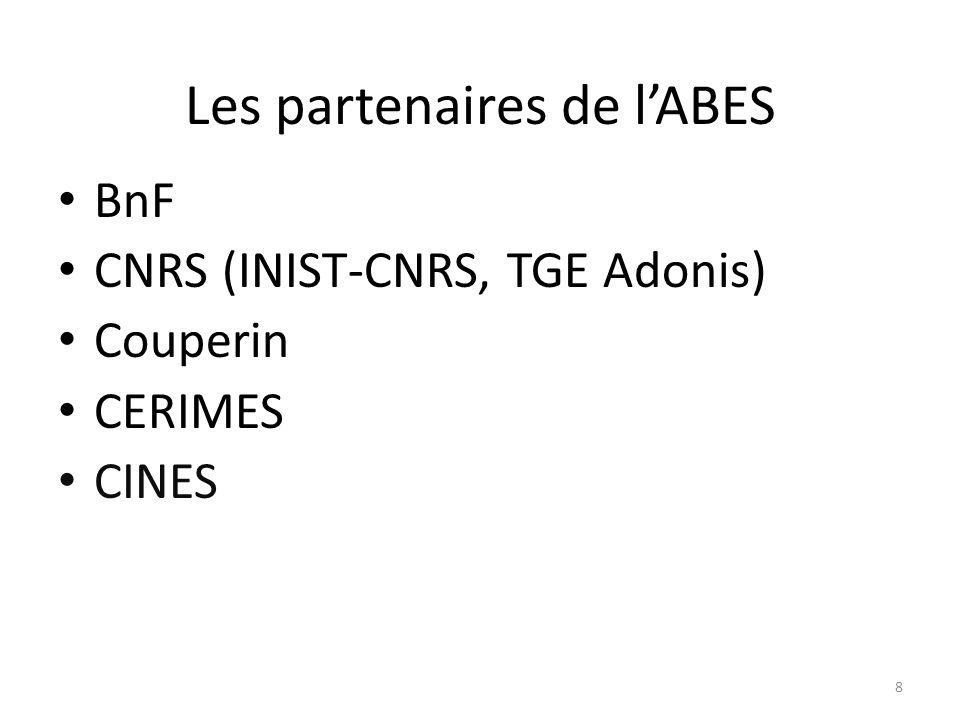 2) Les produits et services de lABES 9