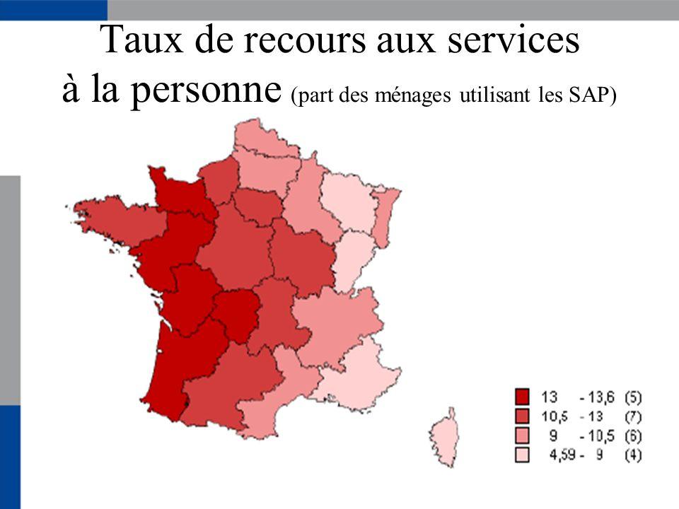 Genre et âge 86 000 salariés dans les services à la personne en Rhône-Alpes (hors assistantes maternelles)