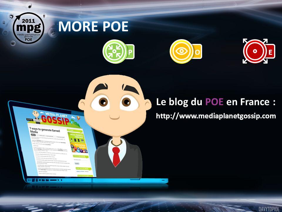 MORE POE Le blog du POE en France : http://www.mediaplanetgossip.com