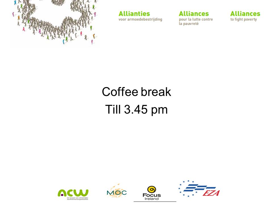 Coffee break Till 3.45 pm