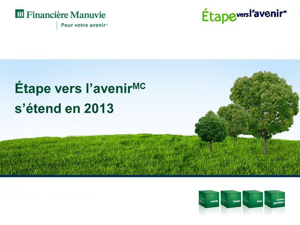 Étape vers lavenir MC sétend en 2013