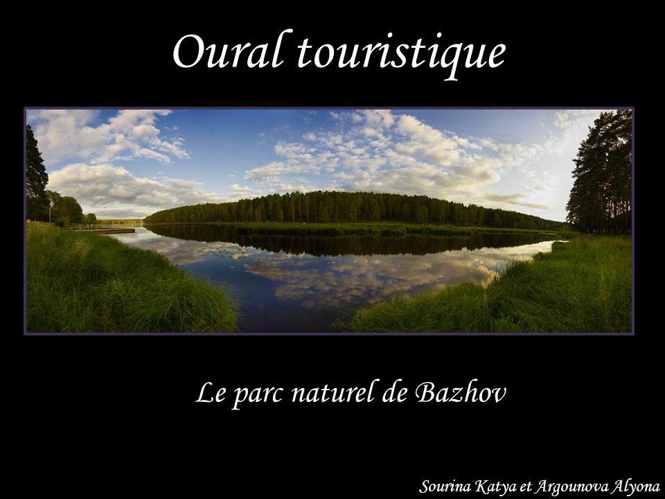 Oural touristique Le parc naturel de Bazhov Sourina Katya et Argounova Alyona