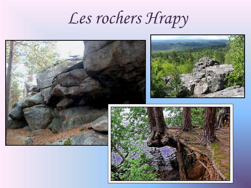 Les rochers Hrapy