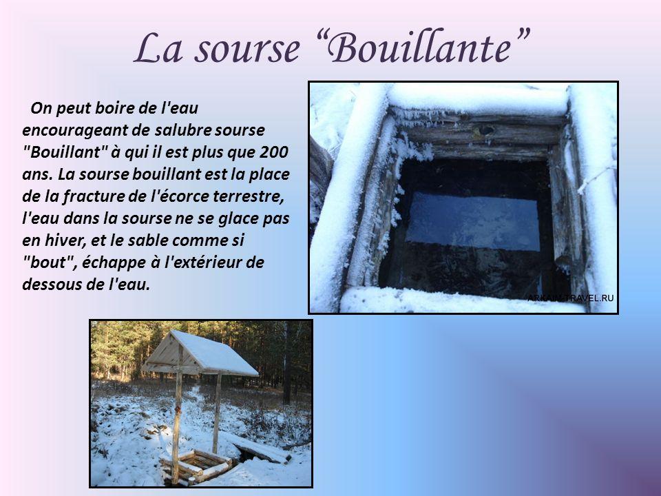 La sourse Bouillante On peut boire de l eau encourageant de salubre sourse Bouillant à qui il est plus que 200 ans.