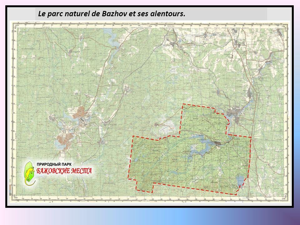 L Le parc naturel de Bazhov et ses alentours.