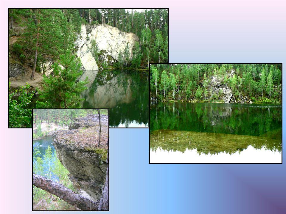 La pierre Markov est un des plus beaux endroits de la région Sysertsky.