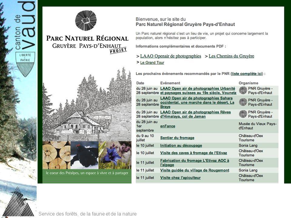 Service des forêts, de la faune et de la nature