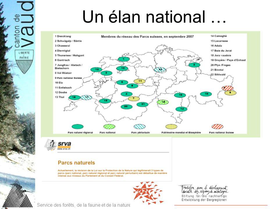 Service des forêts, de la faune et de la nature Un élan national …
