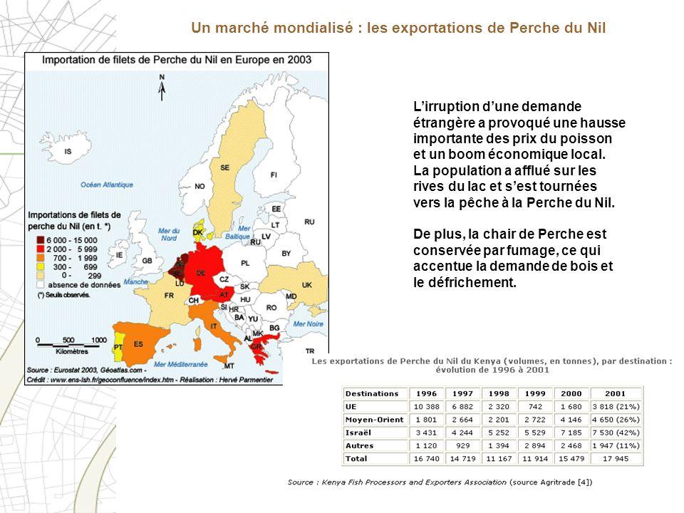 Lirruption dune demande étrangère a provoqué une hausse importante des prix du poisson et un boom économique local. La population a afflué sur les riv
