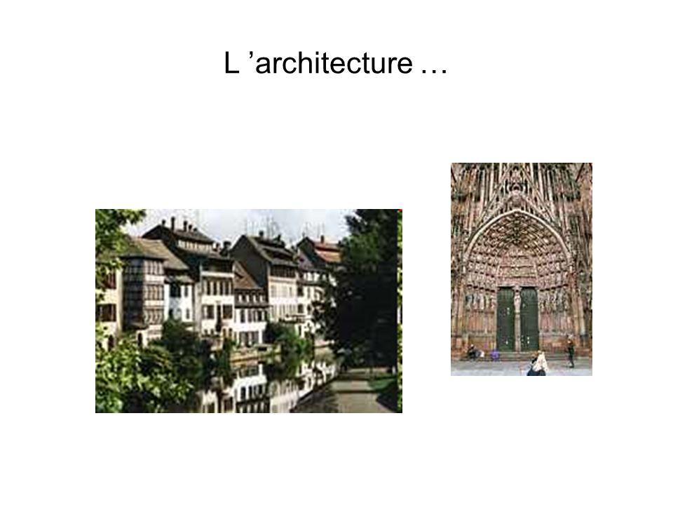 L architecture …