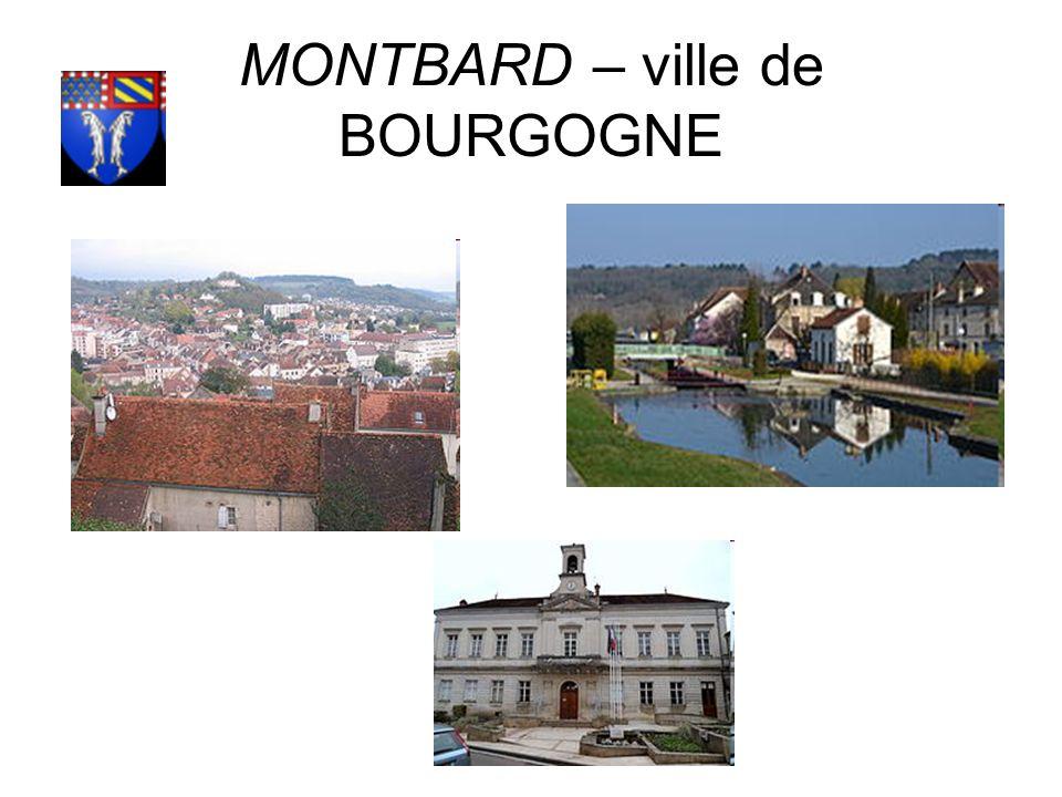 MONTBARD – ville de BOURGOGNE