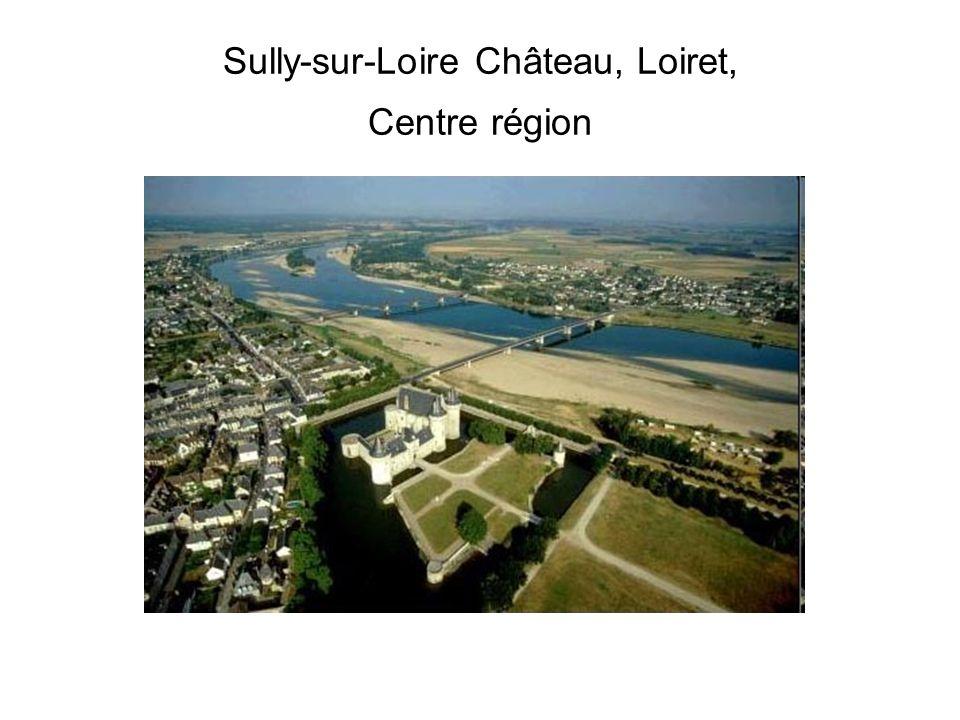 Sully-sur-Loire Château, Loiret, Centre région