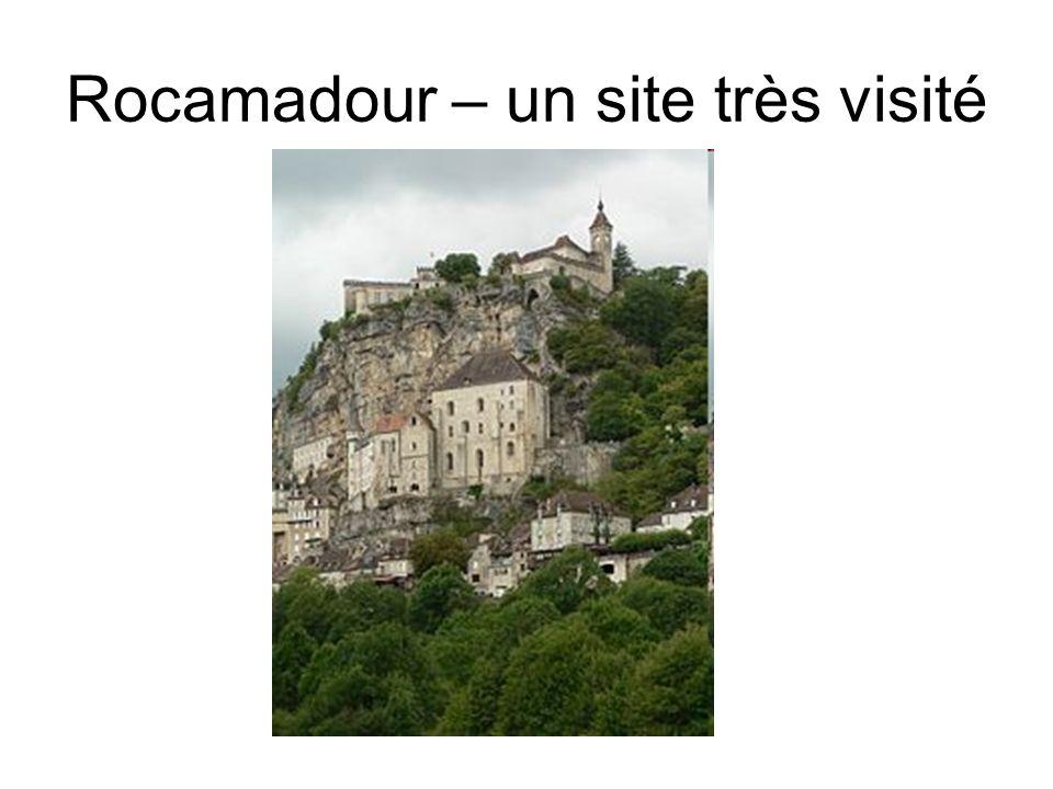 Rocamadour – un site très visité