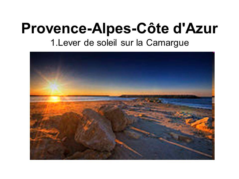 Provence-Alpes-Côte d'Azur 1.Lever de soleil sur la Camargue