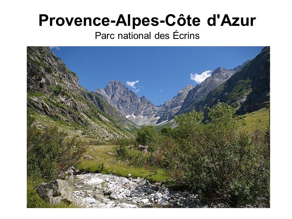 Provence-Alpes-Côte d'Azur Parc national des Écrins