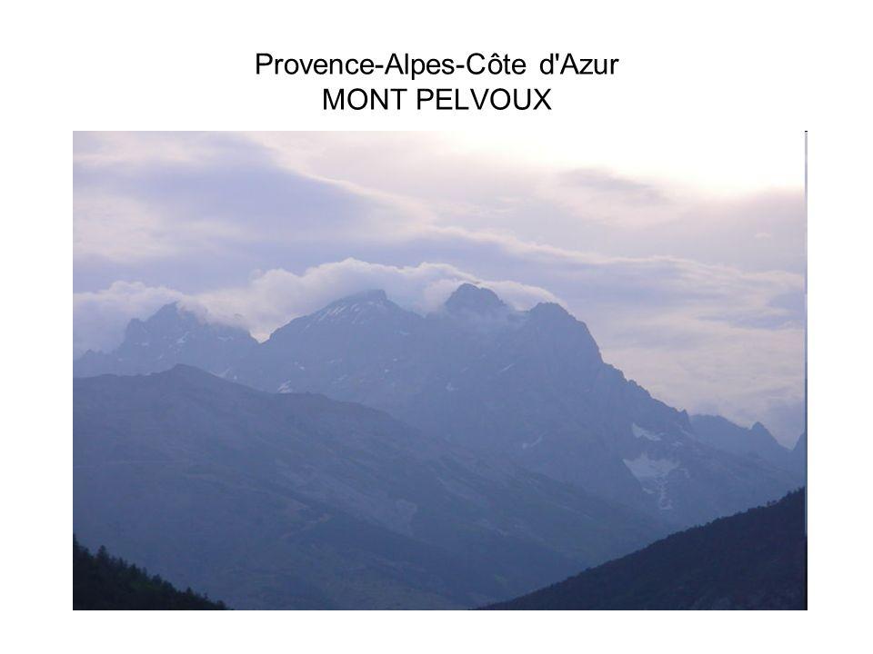 Provence-Alpes-Côte d'Azur MONT PELVOUX