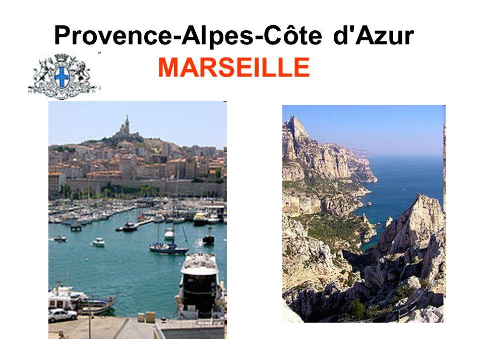 Provence-Alpes-Côte d'Azur MARSEILLE