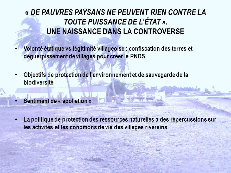 « DE PAUVRES PAYSANS NE PEUVENT RIEN CONTRE LA TOUTE PUISSANCE DE LÉTAT ».