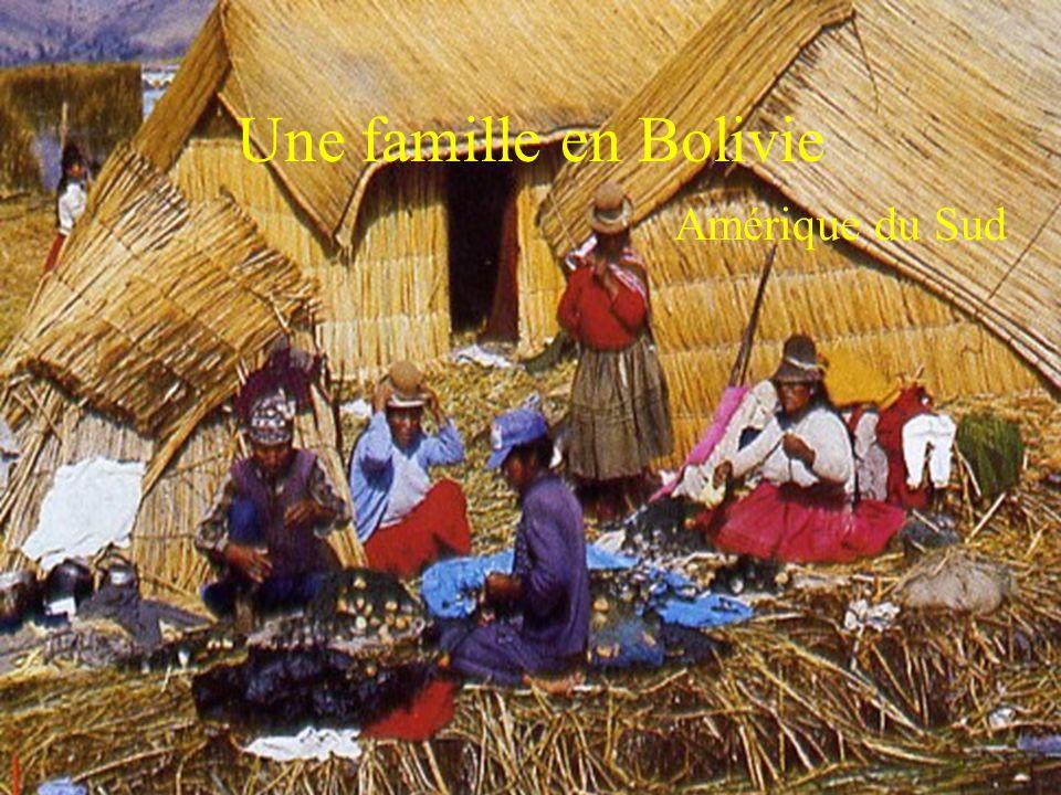 Une famille en Bolivie Amérique du Sud