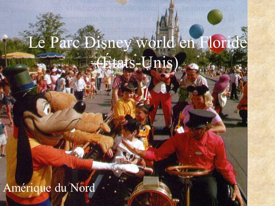 Le Parc Disney world en Floride (États-Unis) Amérique du Nord