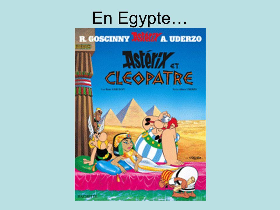 En Egypte…