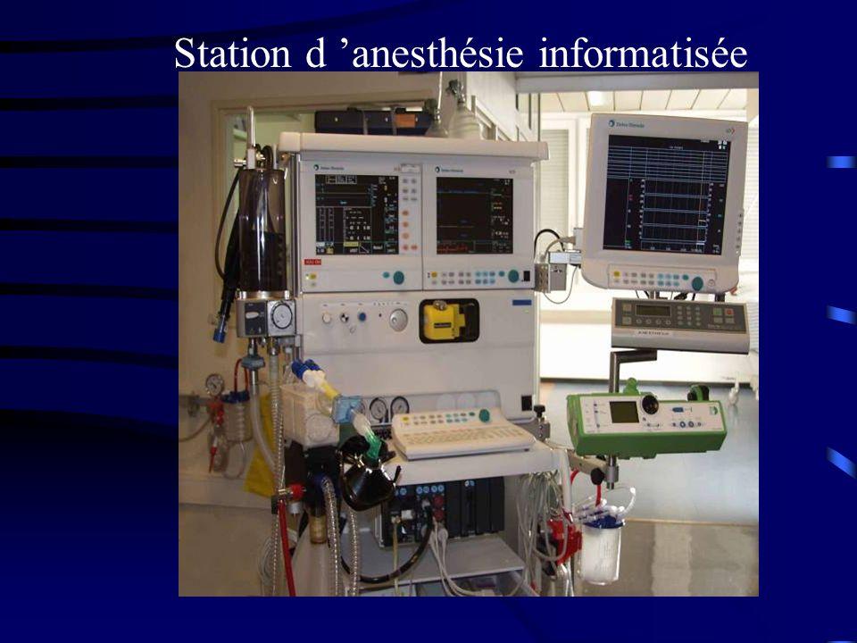 Station d anesthésie informatisée