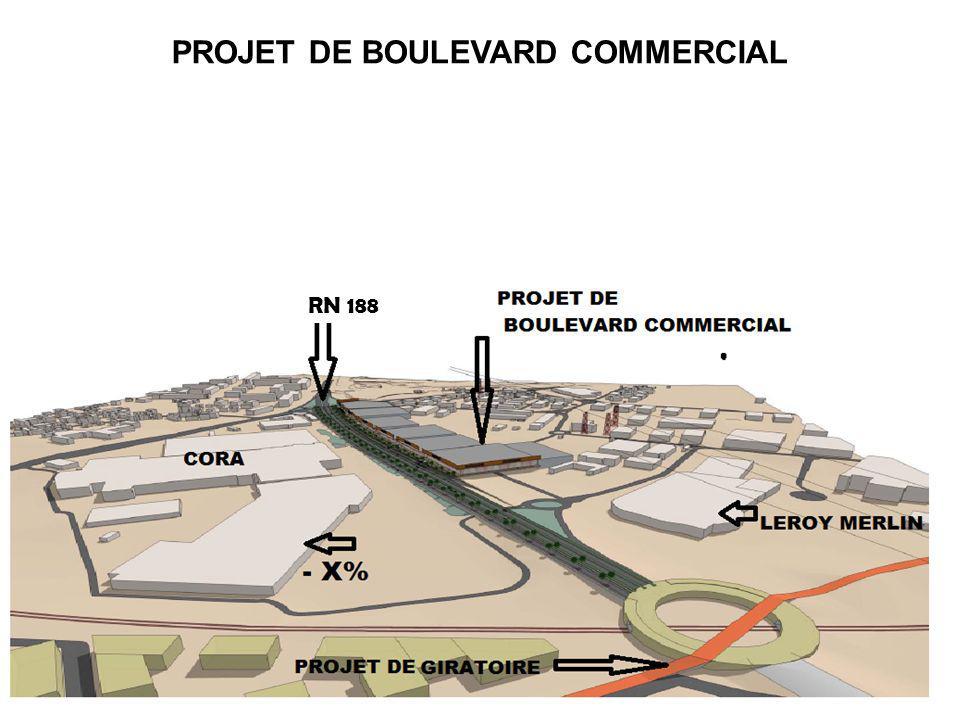 3 PROJET DE BOULEVARD COMMERCIAL RN 188