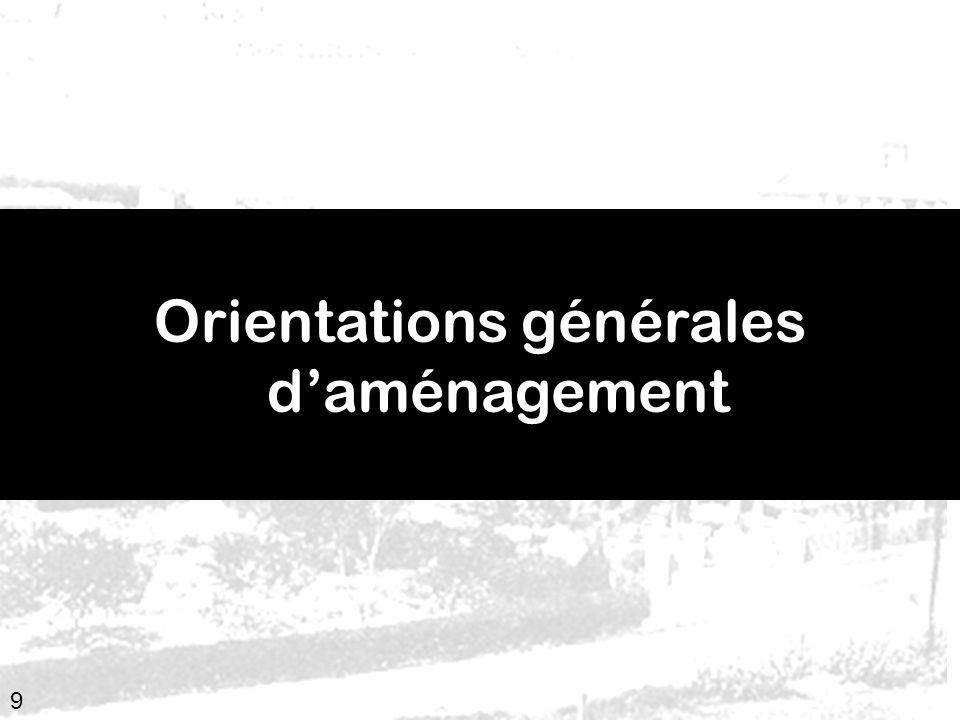 9 Orientations générales daménagement