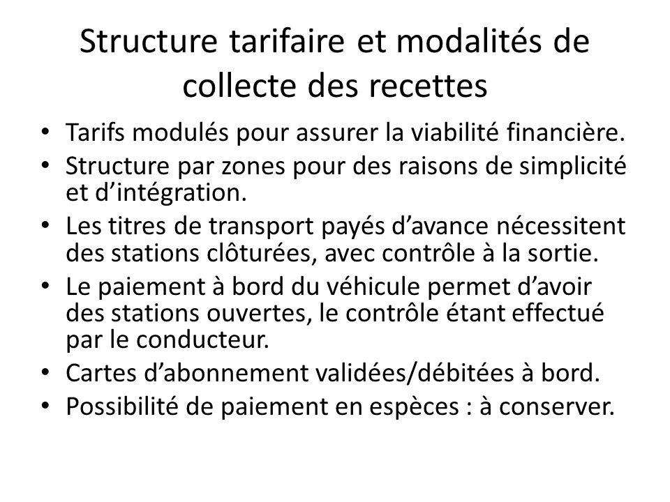 Caractéristiques techniques des stations et des autobus Accès à bord conçu pour au moins 95 % des passagers.