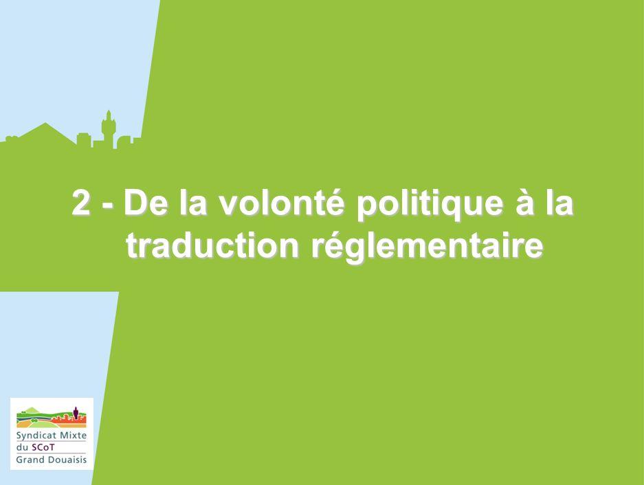 13 2 - De la volonté politique à la traduction réglementaire