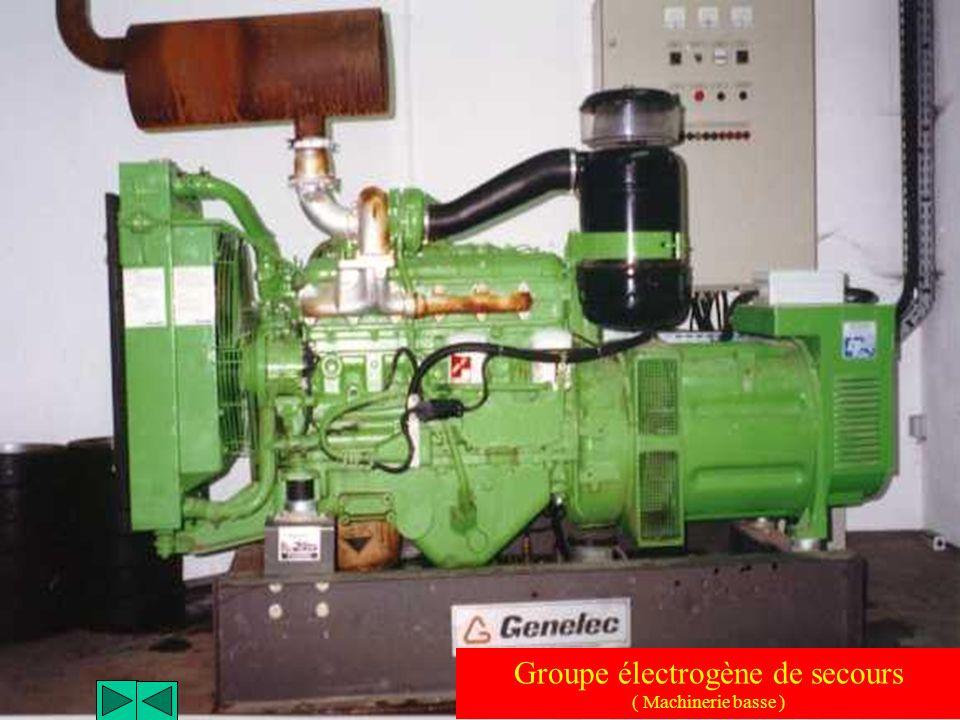 Sectionneur et fusibles ( Machinerie basse )