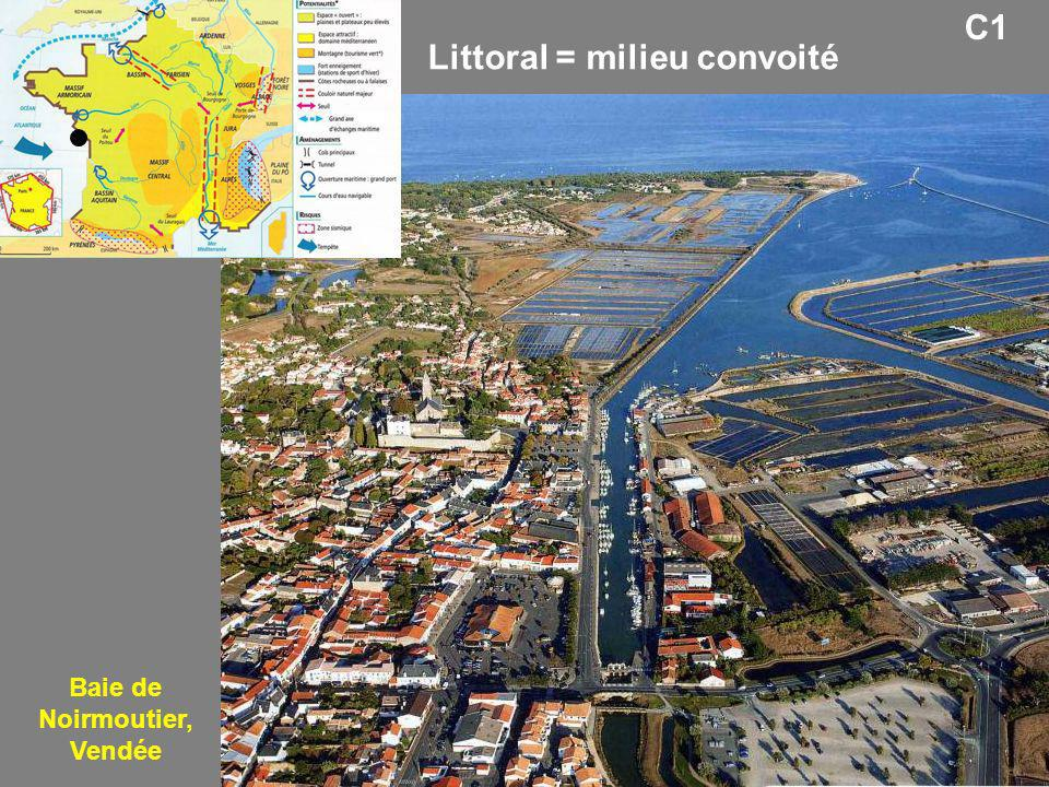 C1 Baie de Noirmoutier, Vendée Littoral = milieu convoité