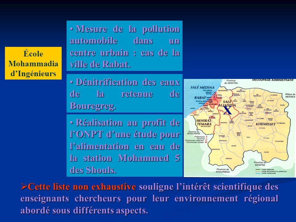 Tous ces travaux ont un impact important sur la région de Rabat - Salé – Zemmour – Zaer.