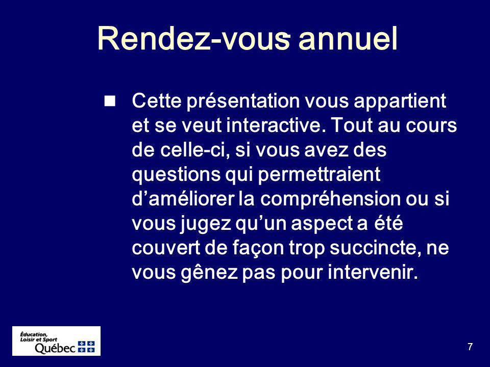 8 Sujets proposés A.Contexte général B. Dossiers à incidences financières : 1.