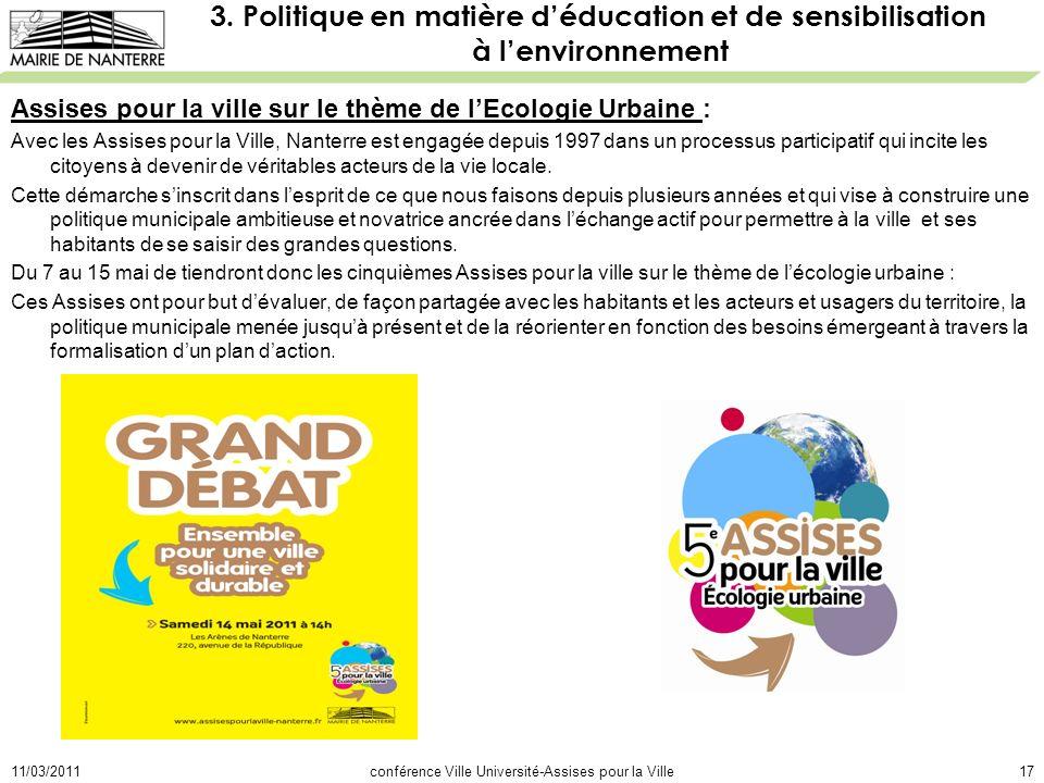 11/03/2011conférence Ville Université-Assises pour la Ville17 3.