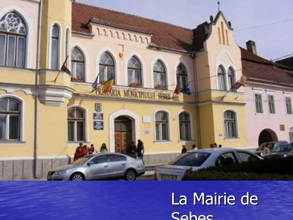 La Mairie de Sebes