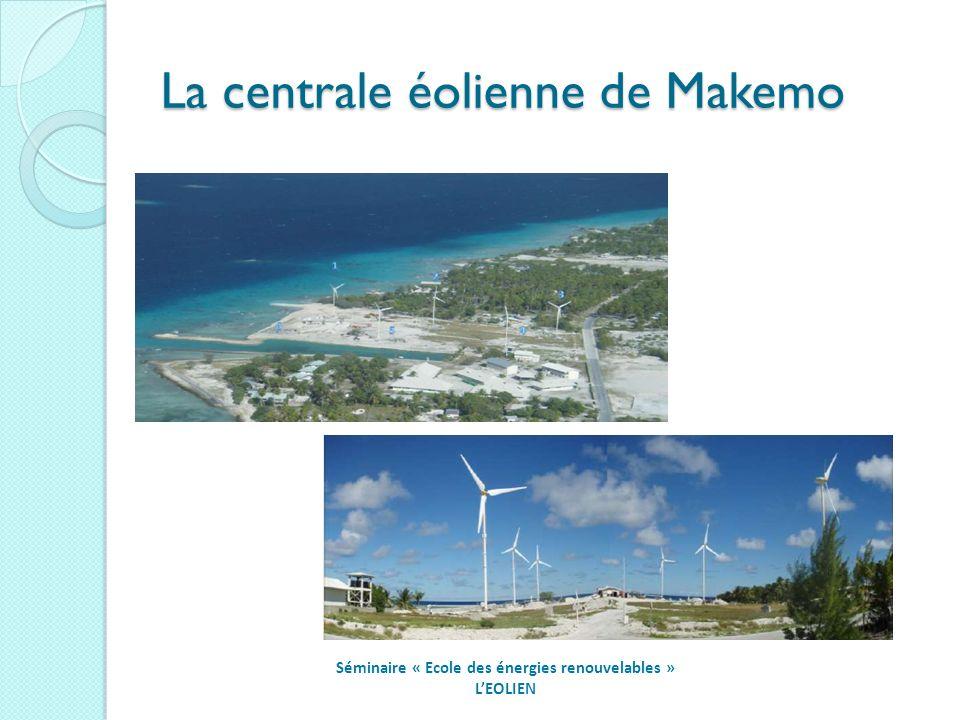 La centrale éolienne de Makemo Séminaire « Ecole des énergies renouvelables » LEOLIEN